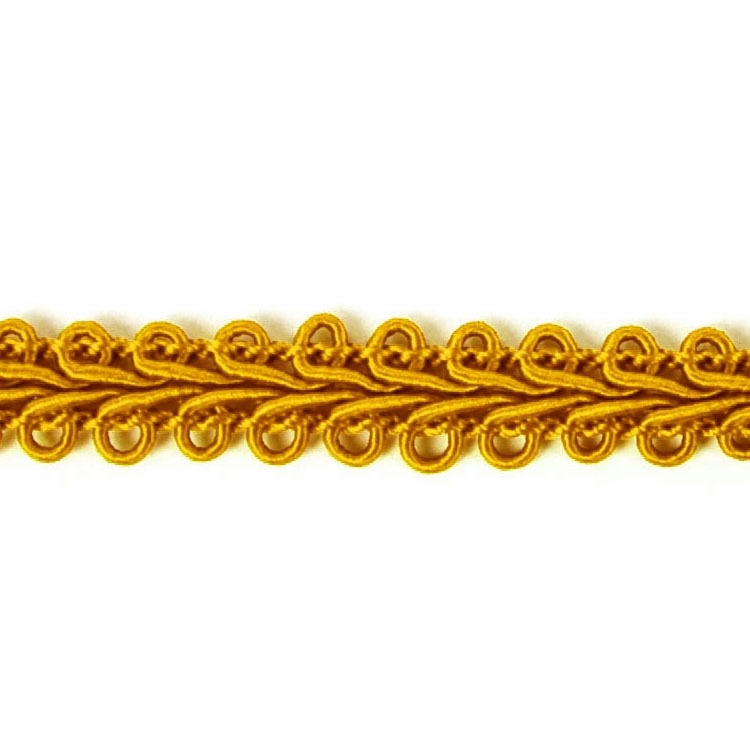 braid trimmings yellow | 7092-52 | gold