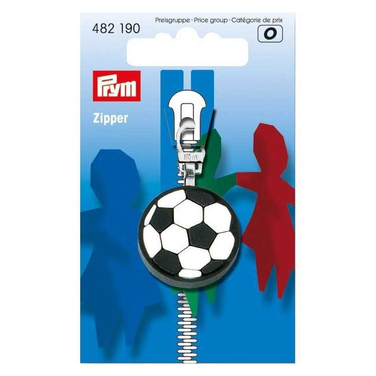 Prym Kinder Zipper Fussball
