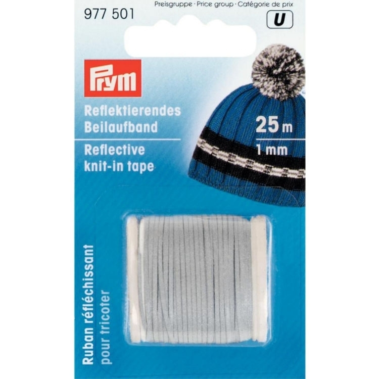 Prym reflective knit-in thread, 25m