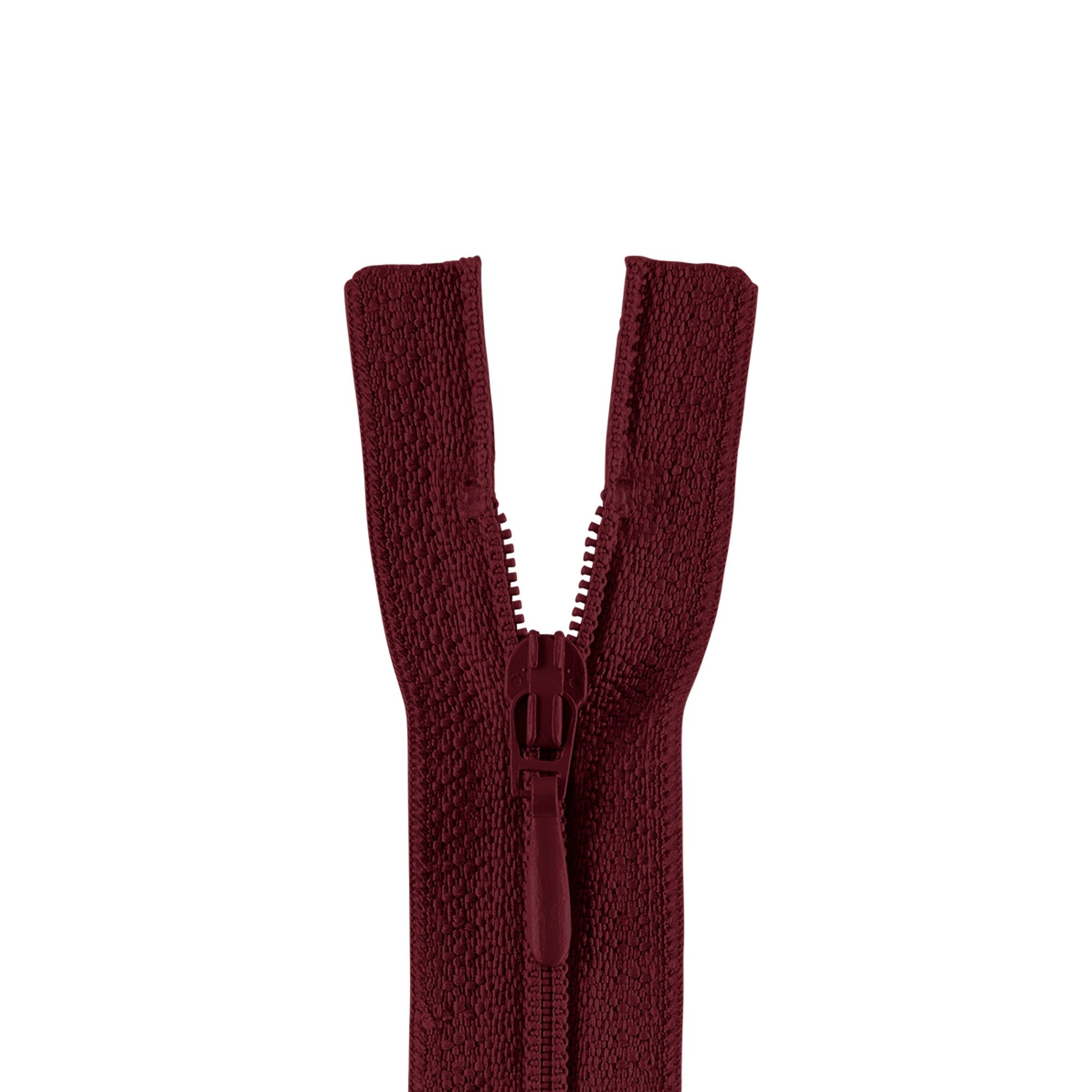 zipper 4800, burgundy