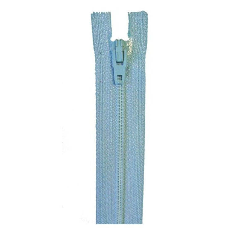 zipper 4801, light blue