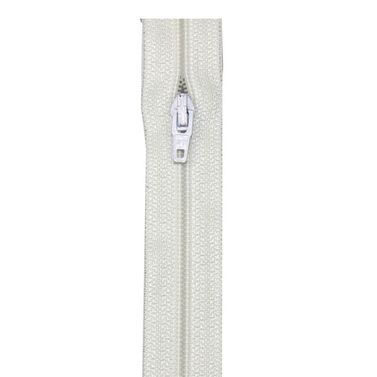 zipper Meterware S40, white