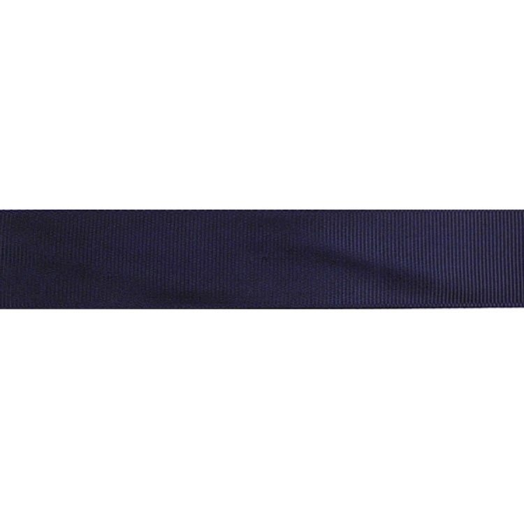 Ribbon 25 mm, darkblue
