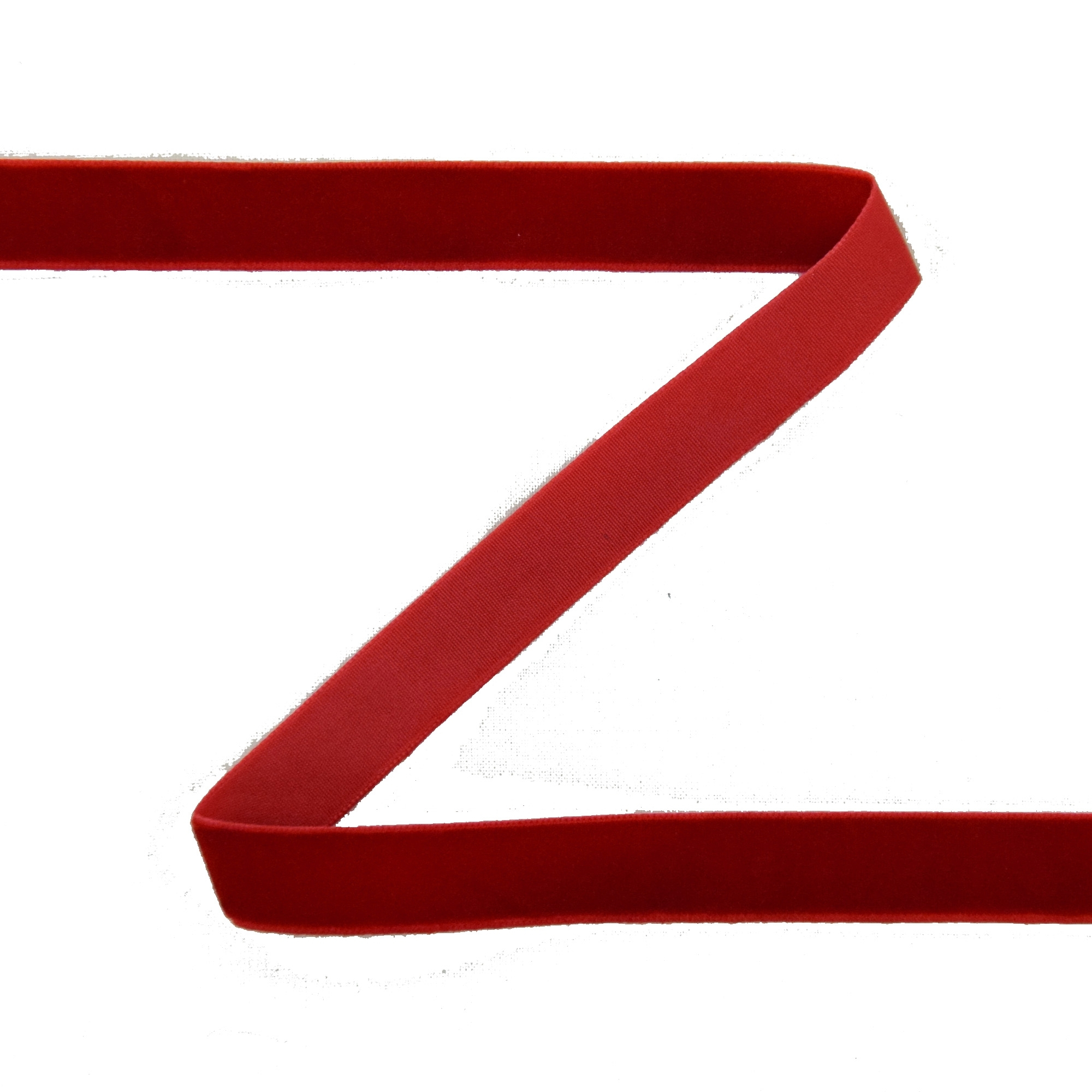 Samtband 15 mm, rot | 30259 | rot