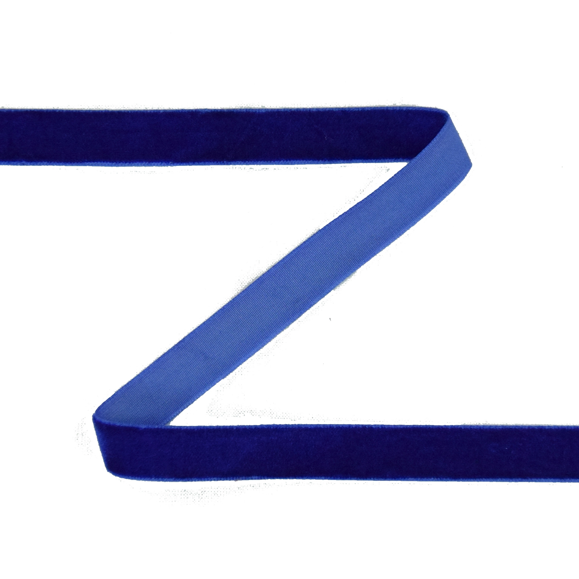 Samtband 15 mm, royalblau | 30264 | blau
