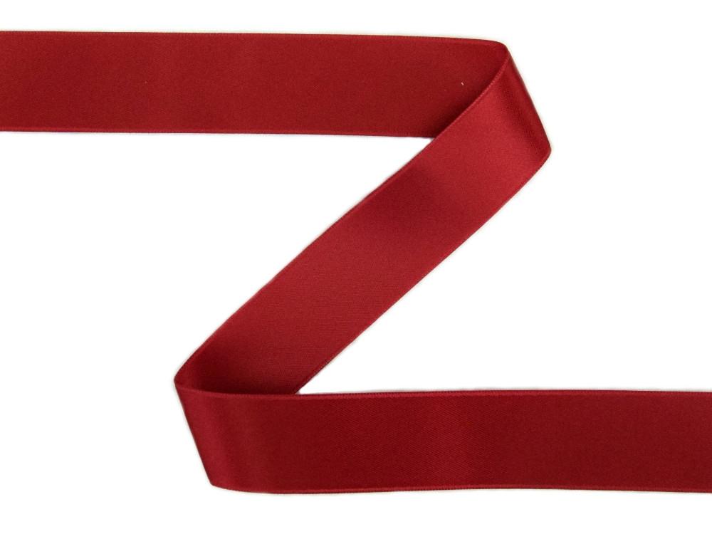 Schleifenband in festlichem Rot
