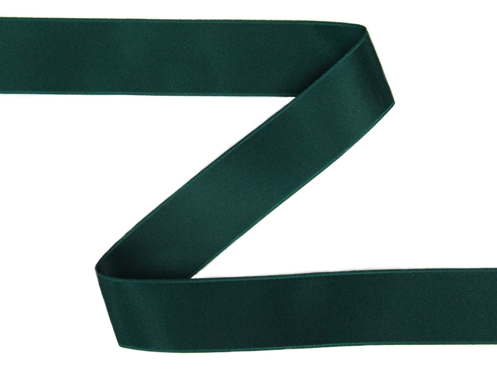 Satin-ribbon dark green