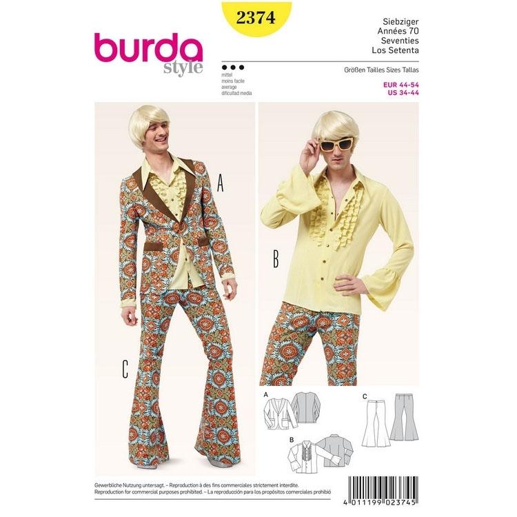 Schnittmuster kleid 70er jahre