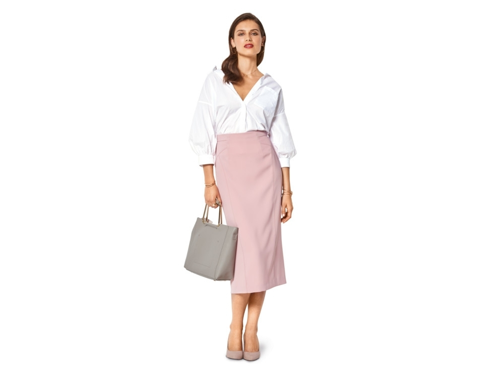 Sewing pattern Burda 6431, pencil skirt | fabrics-hemmers.co.uk