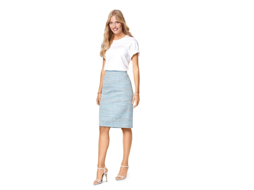 Sewing pattern pencil skirts, Burda 6431 | fabrics-hemmers.co.uk