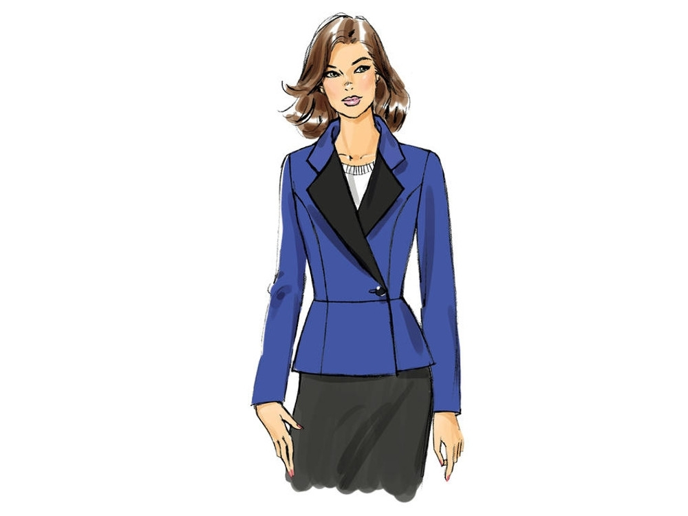 Pattern Butterick 6104 Misses' Jacket