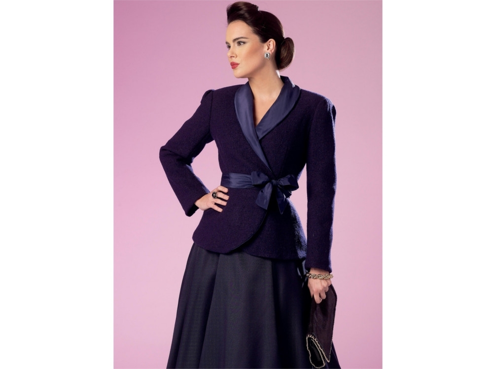 Pattern Butterick 6105 Misses' Jacket and Coat