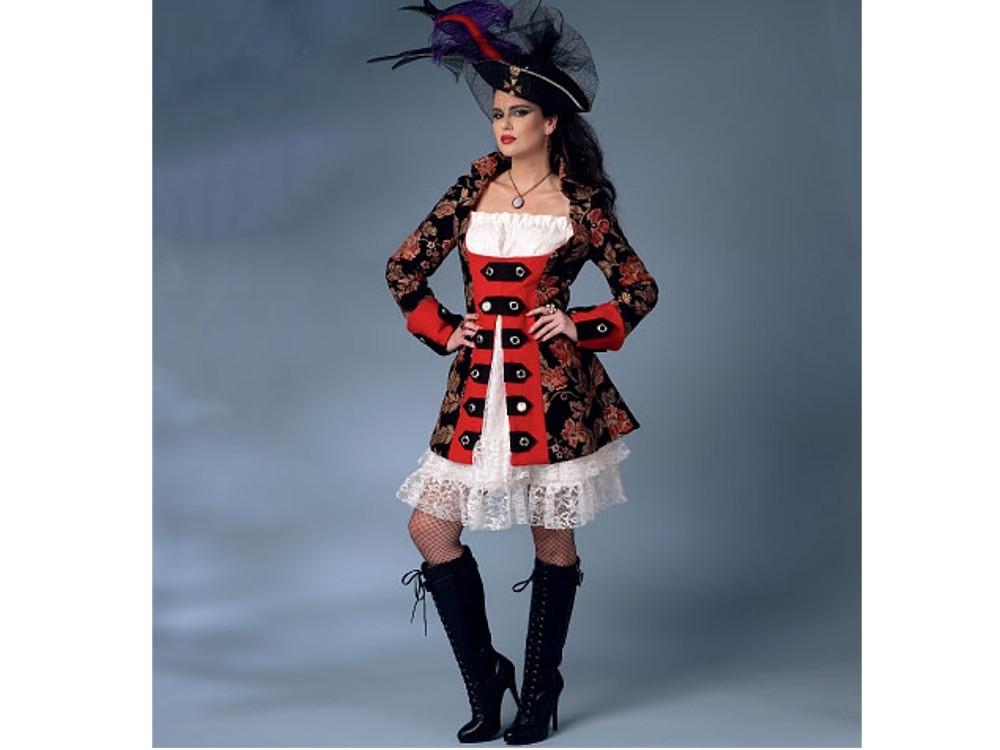 Schnittmuster Butterick 6114 Damen Kostüm | stoffe-hemmers.de