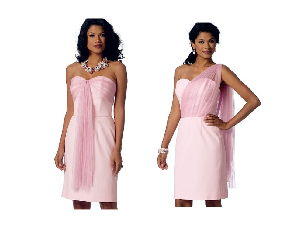 Fancy Abendkleid Schnittmuster Uk Collection - Decke Stricken Muster ...