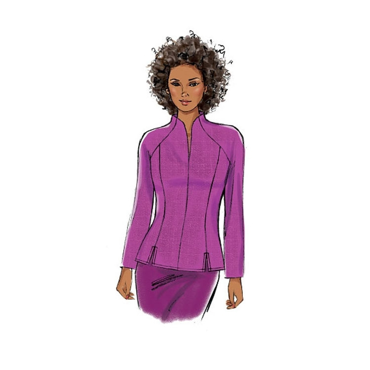 Pattern Butterick 6134 Misses' Top