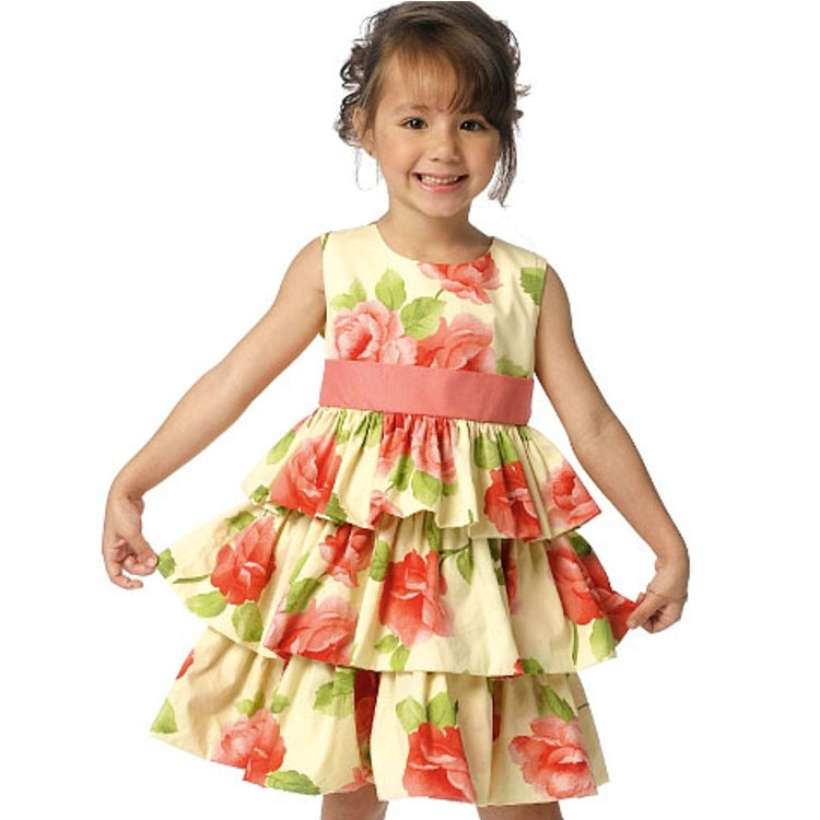 Pattern Butterick 6161 Childrens' Dress