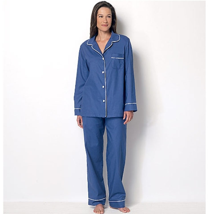 Pattern Butterick 6296 Misses' Nightwear
