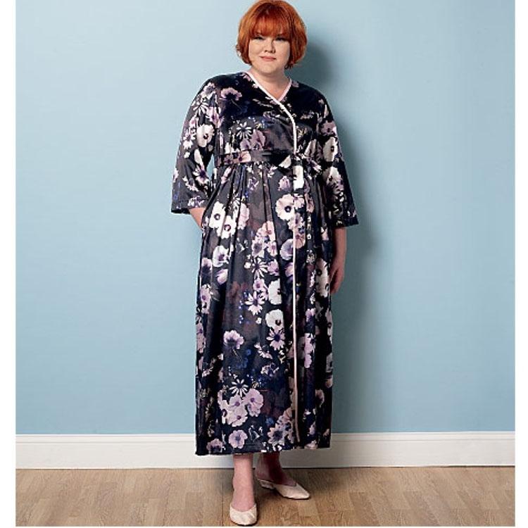 Pattern Butterick 6300 Misses\' Robe, Belt and Negligee | fabrics ...