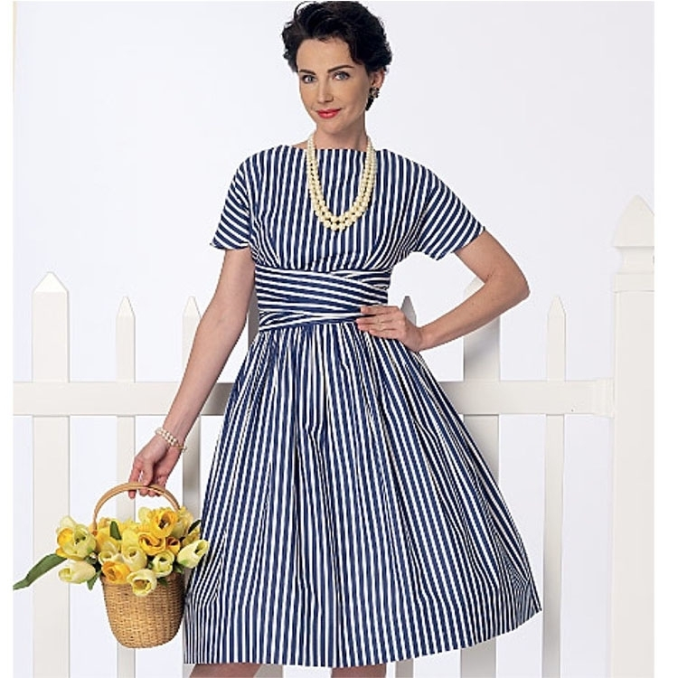 Pattern Butterick 6318 Misses' Dress