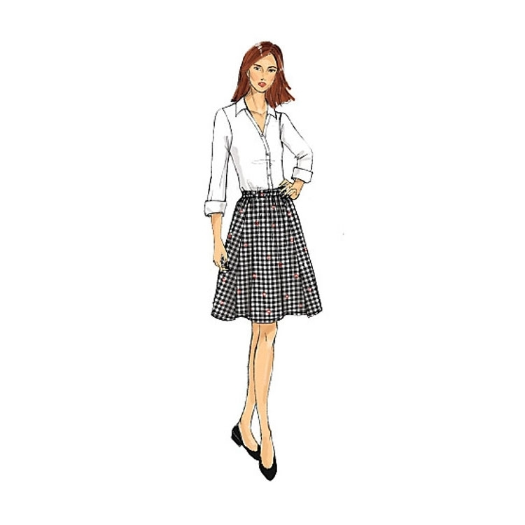 Pattern Butterick 6326 Misses' Skirt