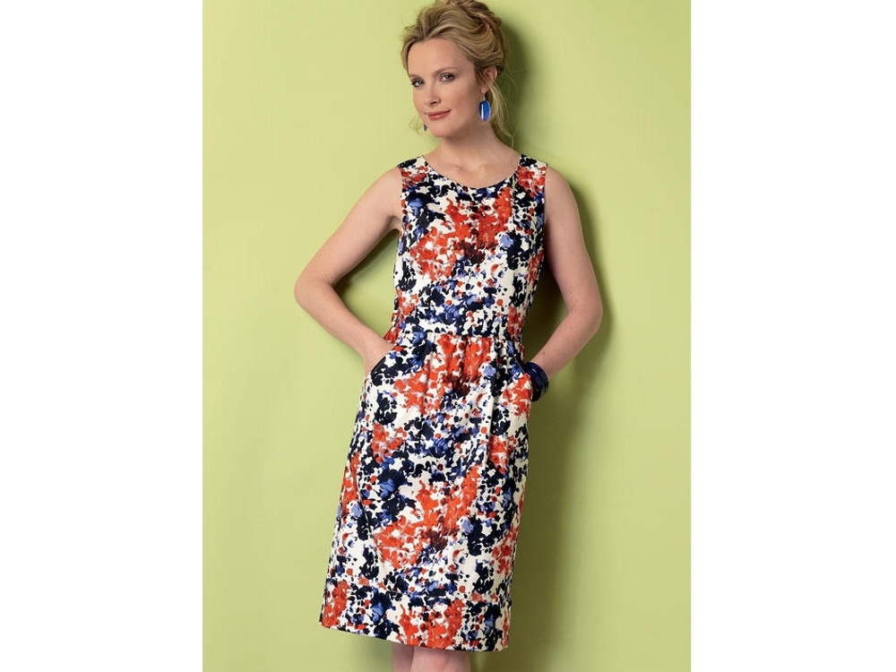 Kleider aus baumwolle schnittmuster – Beliebte Modelle der ...
