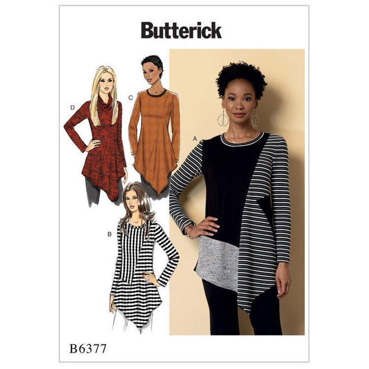 Pattern Butterick 6377 Misses' Tunic