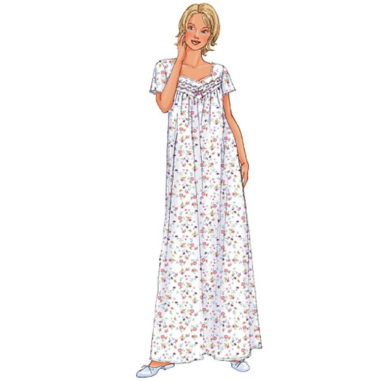 Pattern Butterick 6838 Misses' Nightwear