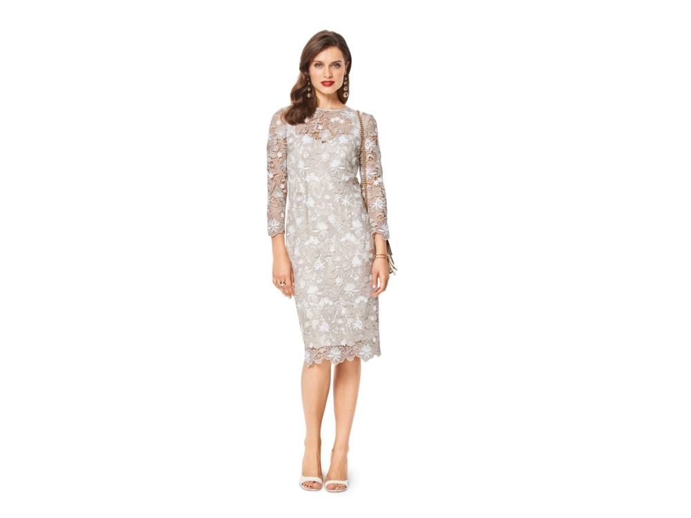 Sewing pattern Burda 6423, cocktail dress   fabrics-hemmers.com