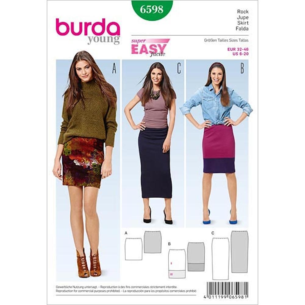 Funky Skirt Nähmuster Uk Collection - Decke Stricken Muster ...