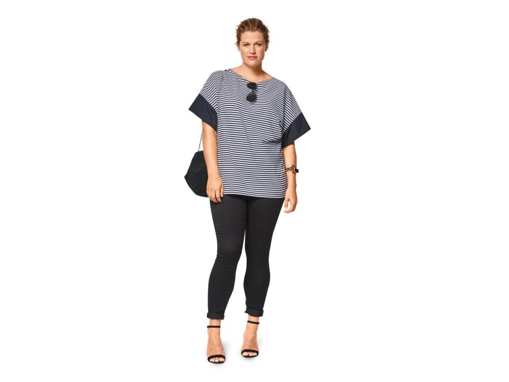 Schnittmuster Shirt, Burda 6445 | stoffe-hemmers.de