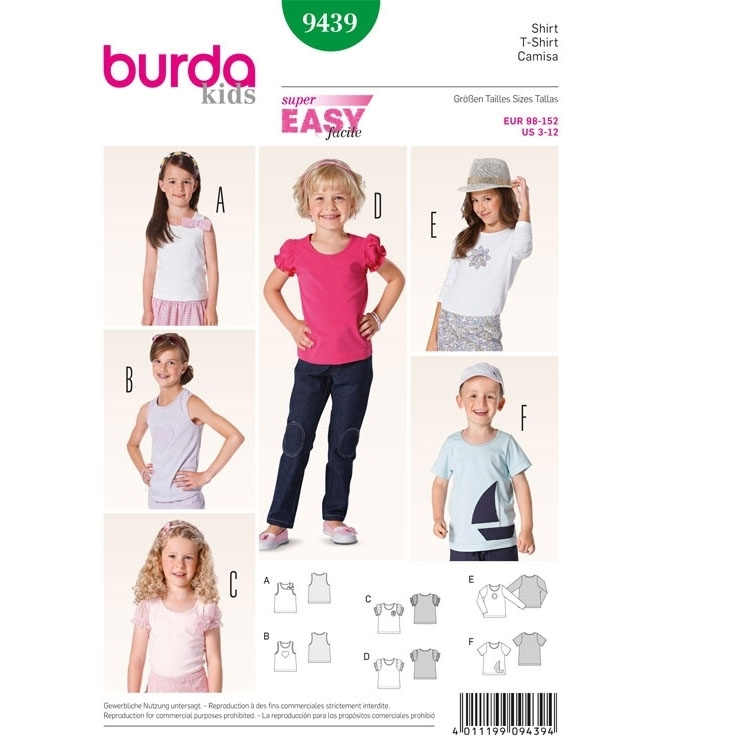 Sewing pattern T-Shirt - Top, 9439