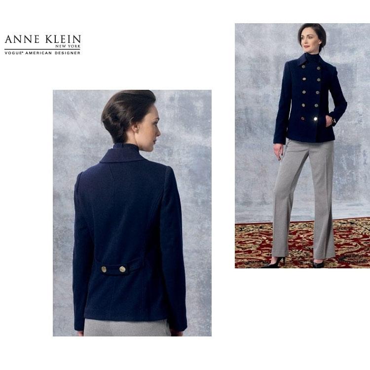 Pattern Vogue 1467 Designer Jacket and pants | fabrics-hemmers.co.uk