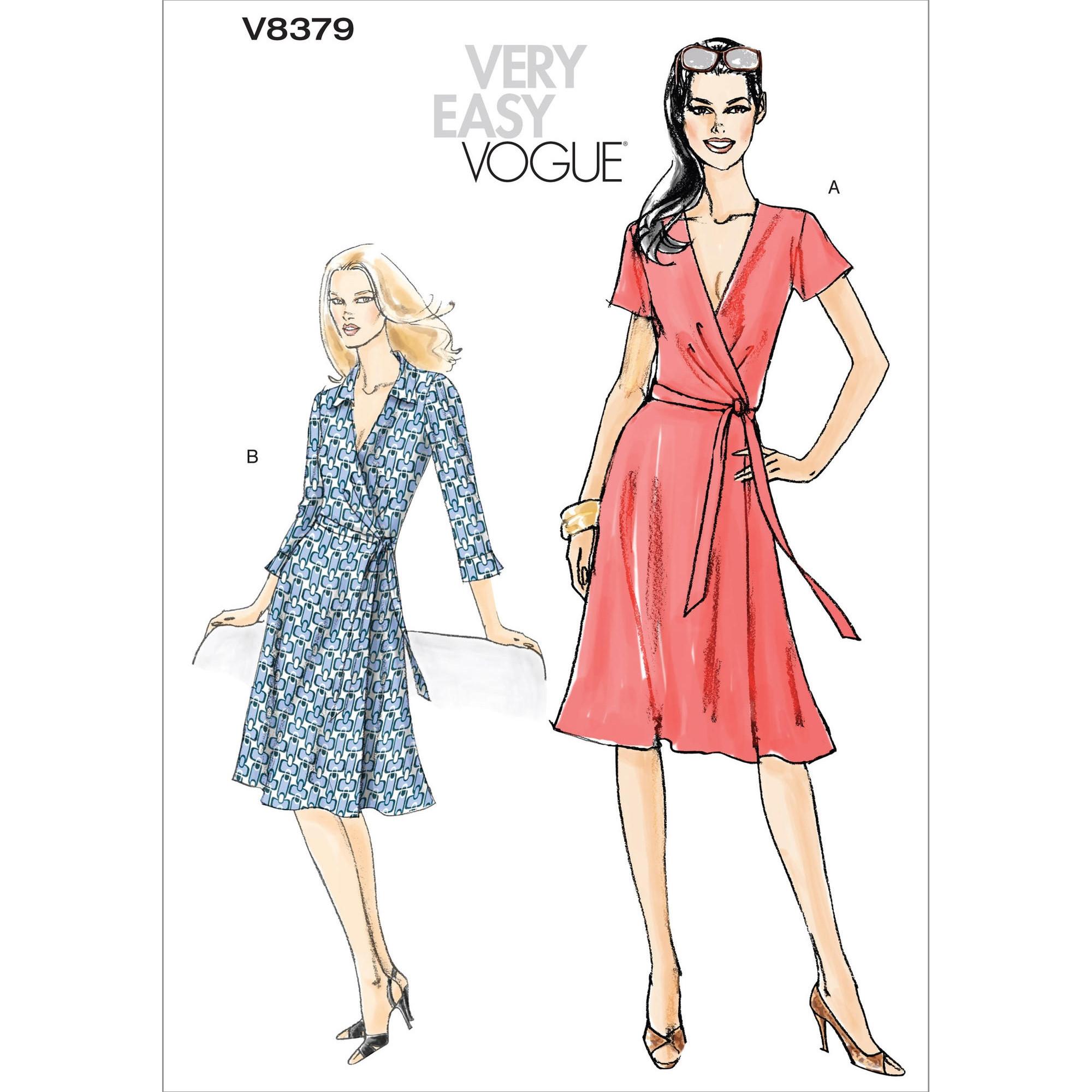 Schnittmuster Vogue 8379 Kleid | stoffe-hemmers.de