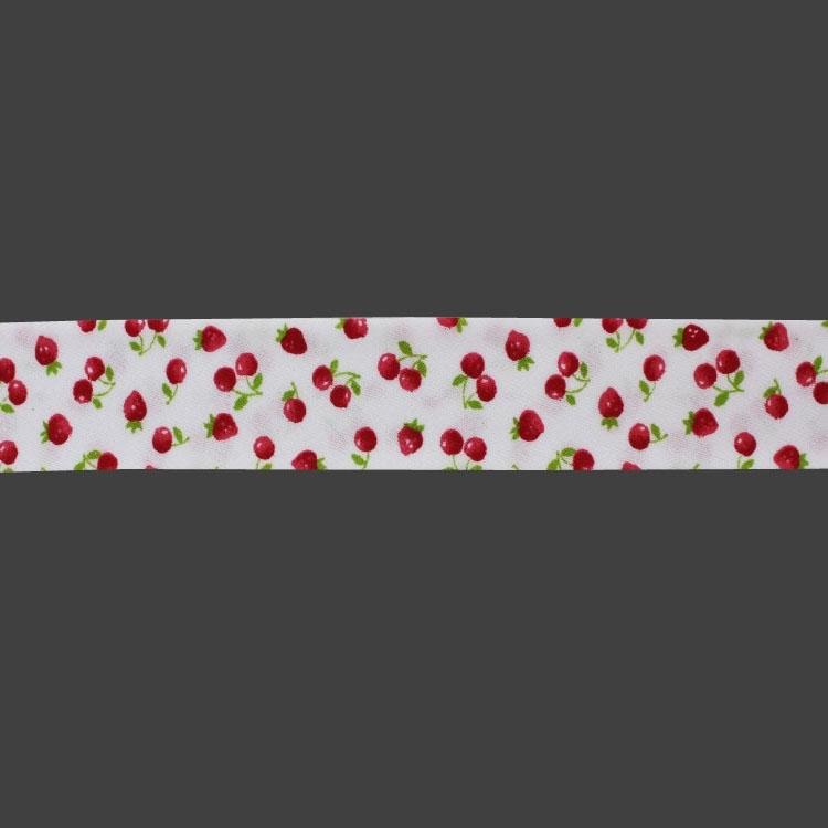 bias tape cherries