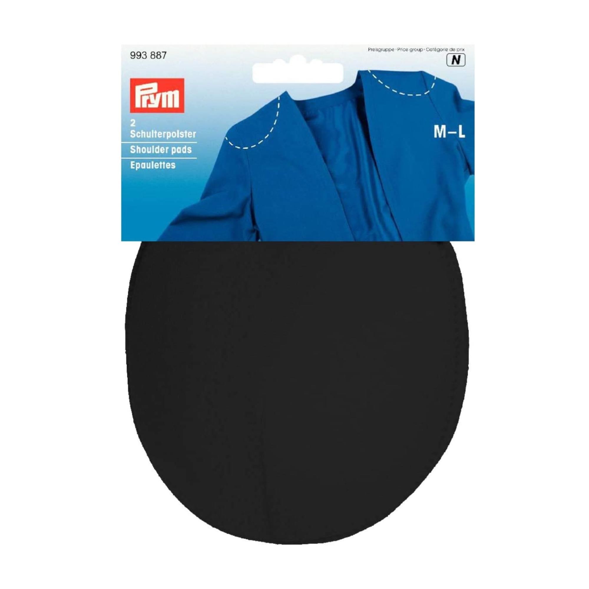 Schulterpolster Raglan PA M-L, schwarz