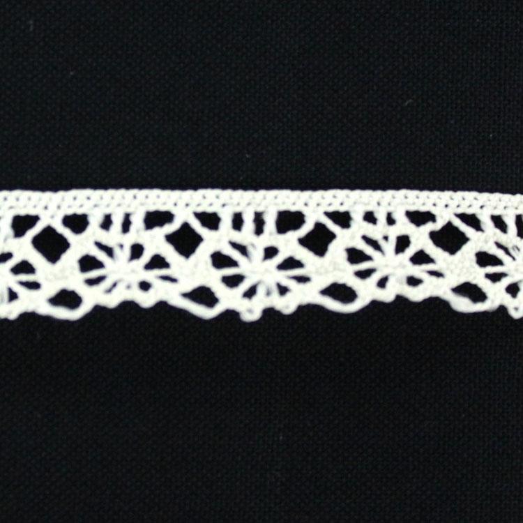 Spitzenband 1 cm, wollweiss