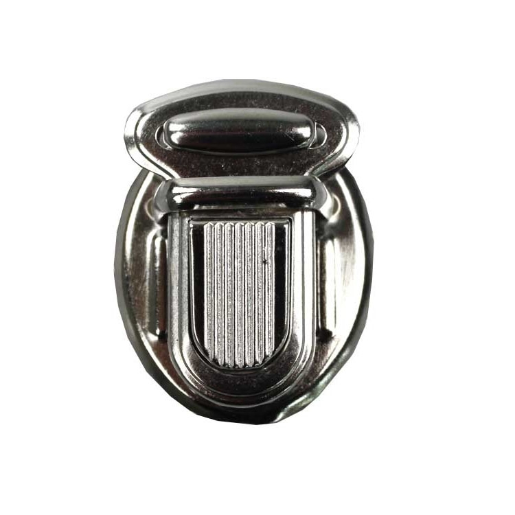 Buckle 25 mm, argent