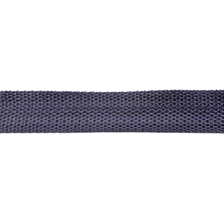 Bag-Webbing anthracite 25 mm | 10379 | schwarz