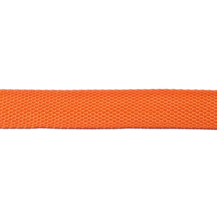 Taschengurtband orange 25 mm
