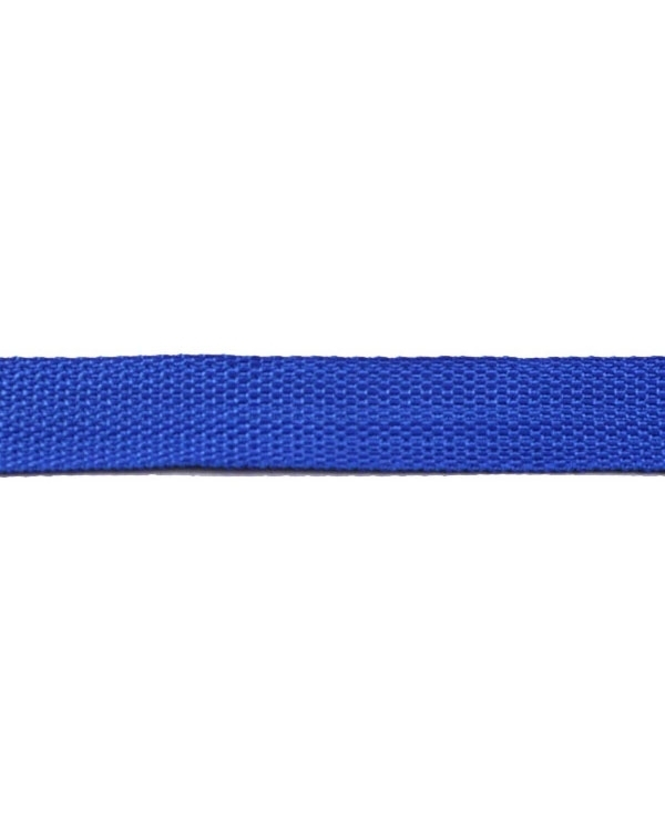 Tassen singelband royal blauw 25 mm
