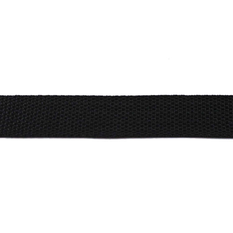 Bag-Webbing black 25 mm