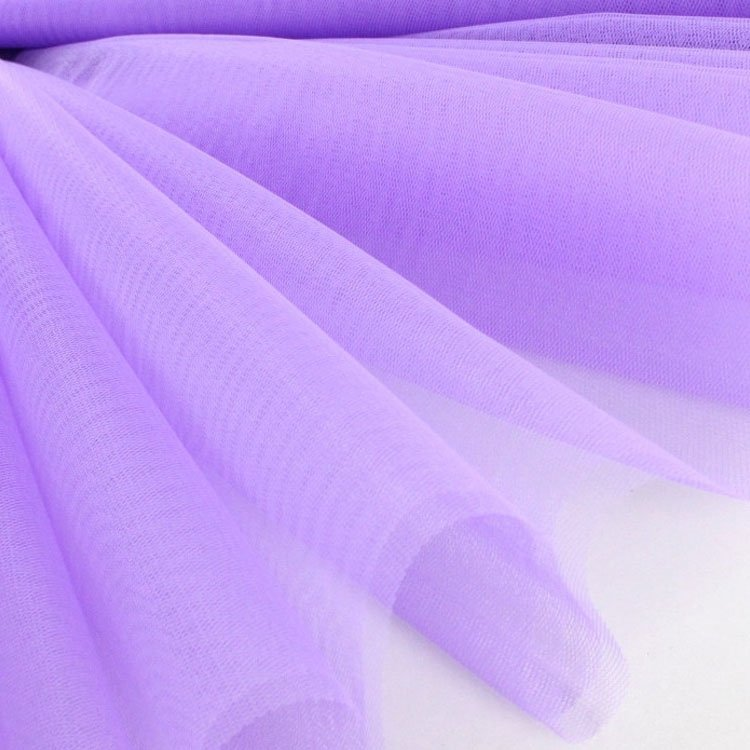 Tulle lilas | tissus-hemmers.fr