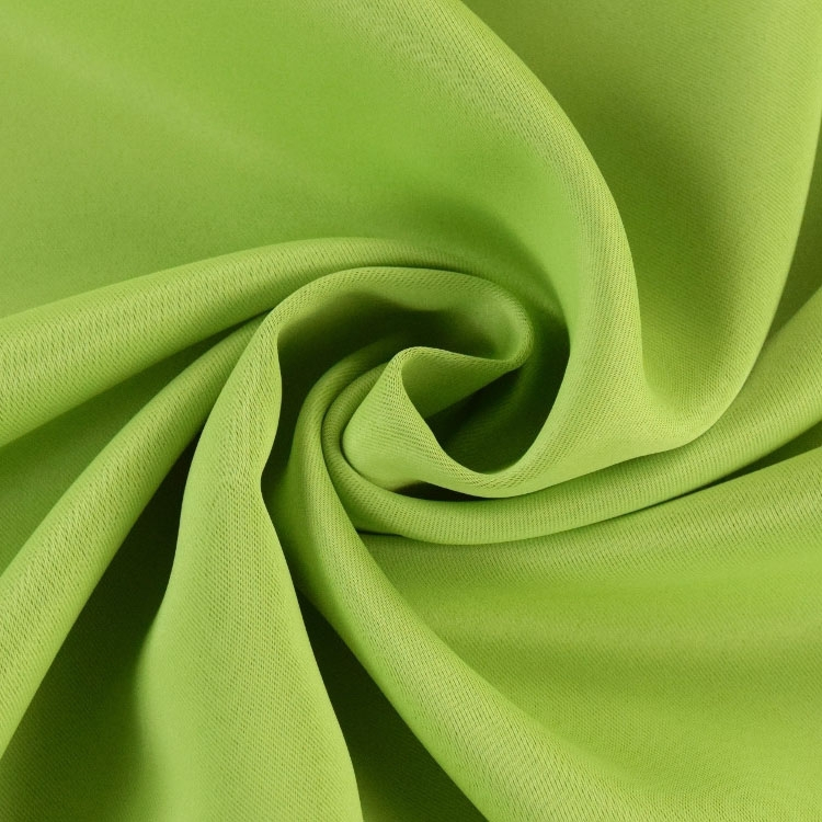 Blackout fabric apple green