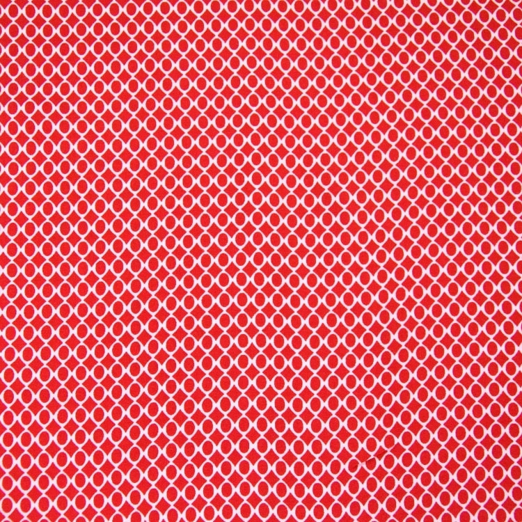 Viskose Voile Mini Diamonds, rot