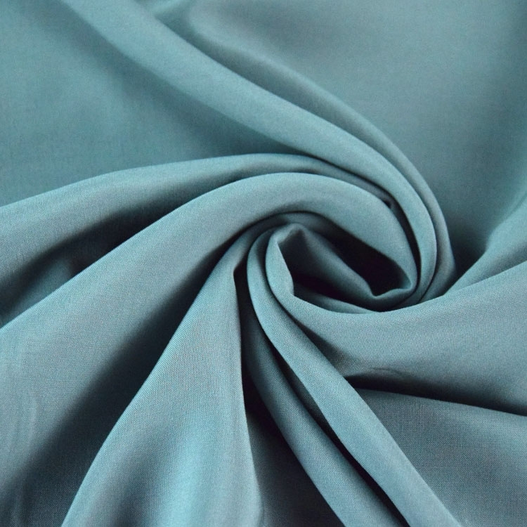 Viscose voile plain, grey-blue | 126.417-5028 | grau