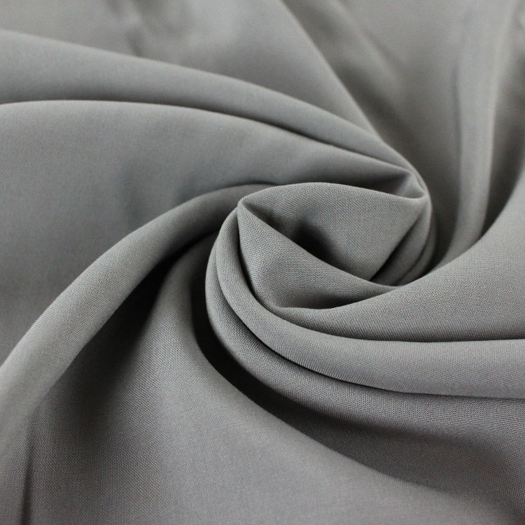 Viscose voile plain, grey | 126.417-5002 | grau