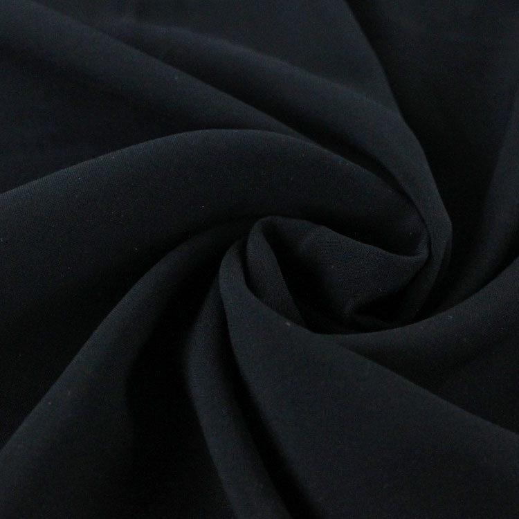 Viscose voile plain, black | 126.417-5001 | schwarz