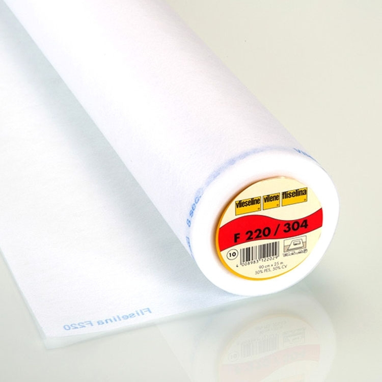 Vlieseline fusible interfacing F220, white