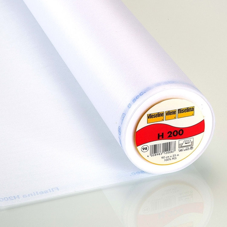 Vlieseline fusible interfacing H200 white | H200 | weiss