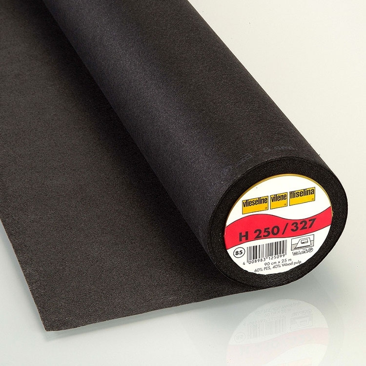 Vlieseline fusible interfacing H250 black | stoffen-hemmers.nl